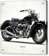 The 1947 Chief Acrylic Print