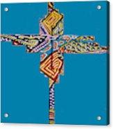 The Abstract Cross Acrylic Print