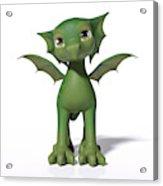 The Adorable Dragon  Acrylic Print