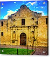 The Alamo Mission Acrylic Print
