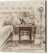 The Antique Sewing Machine Acrylic Print