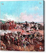 The Battle Of Tetouan - Digital Remastered Edition Acrylic Print