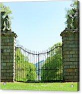 The Bear Gates At Traquair Acrylic Print
