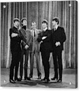 the beatles and ed sullivan - February, 1964 Acrylic Print