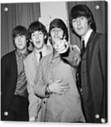 The Beatles At The Paramount Theater Acrylic Print