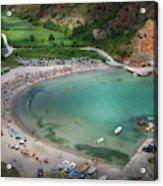 The Bolata Beach Acrylic Print