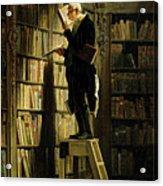 The Bookworm Acrylic Print