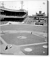 The Boston Braves And The New York Mets Acrylic Print