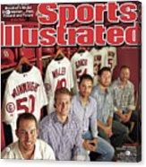 The Cardinal Way Baseballs Model Organization...past Sports Illustrated Cover Acrylic Print