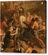 The Carrying Of The Cross, 1634 - 1637 Acrylic Print
