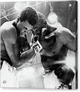 The Cassius Clay Vs Sonny Liston World Acrylic Print