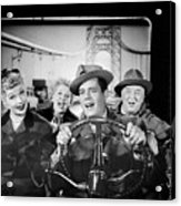 The Cast Of I Love Lucy Acrylic Print