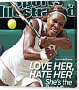 The Championships - Wimbledon 2010 Day Twelve Sports Illustrated Cover Acrylic Print