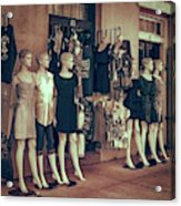 The Clones At The French Market Acrylic Print