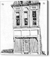 The Colwell Building Helena Montana Acrylic Print