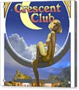 The Crescent Club, Siesta Key Acrylic Print