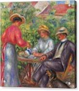 The Cup Of Tea, Or The Garden Acrylic Print