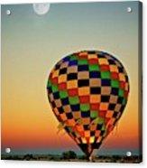 The Dawn of Light, 2017 Albuquerque International Balloon Festival Acrylic Print