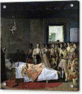 The Death Of The Bullfighter Acrylic Print