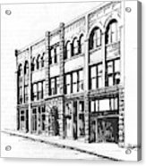 The Denver Block Helena Montana Acrylic Print