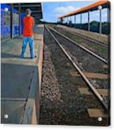 The Distance Of Solitude Acrylic Print