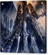 The Dragon Gate Acrylic Print