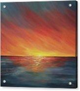 The Edge Of Sunset Acrylic Print