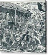 The Election At Eatanswill, C1836, 1925 Acrylic Print