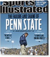 The Failure And Shame Of Penn State Special Report Sports Illustrated Cover Acrylic Print