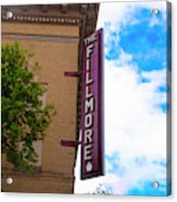 The Fillmore West - San Francisco Acrylic Print