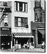 The First Offices Of The Village Voice Acrylic Print