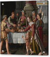The First Passover Feast Acrylic Print