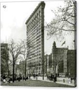 The Flatiron Building 1903 Acrylic Print