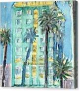 The Georgian Hotel, Santa Monica Acrylic Print