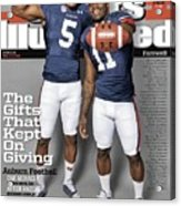 The Gifts That Kept On Giving Auburn Football Sports Illustrated Cover Acrylic Print