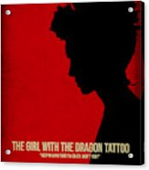 The Girl With A Dragon Tattoo Acrylic Print