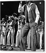 The Godfather Of Soul James Brown Acrylic Print