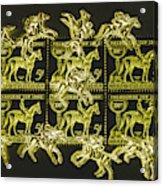 The Golden Race Acrylic Print