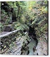 The Gorge Trail Acrylic Print