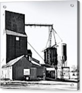 The Grain Elevator Acrylic Print