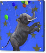 The Happiest Elephant Acrylic Print