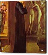 The Heart Desires The Pygmalion Series 1870 Acrylic Print