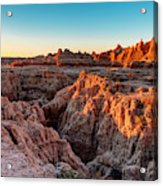 The High And Low Of The Badlands Acrylic Print