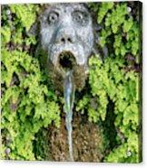 The Hundred Fountains Acrylic Print