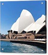 The Iconic Sydney Opera House.  Acrylic Print