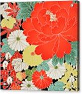 The Japanese Kimono, Close Acrylic Print