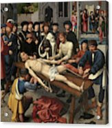 The Judgment Of Cambyses, Flaying Of Sisamnes Acrylic Print
