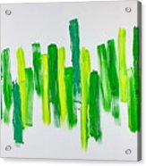 The Kingdom Of Green Acrylic Print