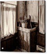 The Kitchen Water Pump Acrylic Print