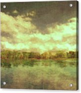 The Lake - Panorama Acrylic Print